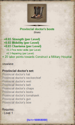 Provincial doctor boots