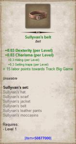 Sullyvan belt