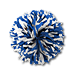 Niebieski pompon cheerleaderki